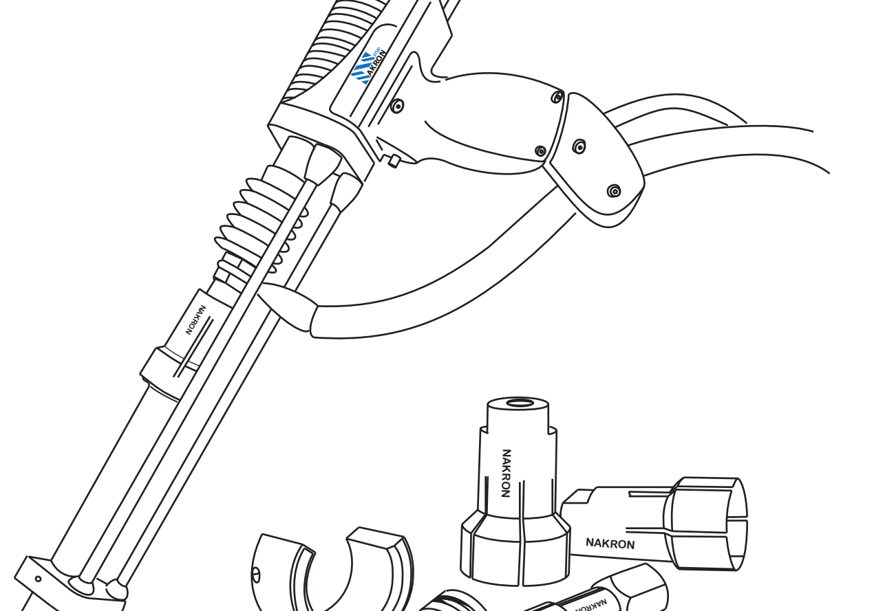 Pistola colocación pernos conectores